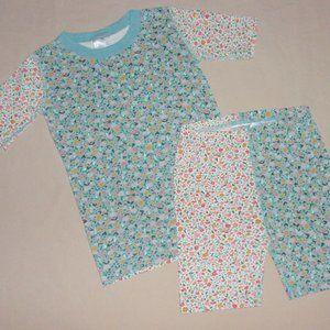 Hanna Andersson Girls Summer Pajamas Sz 150 12